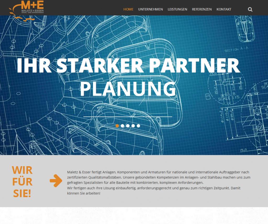 Maletz & Esser Website